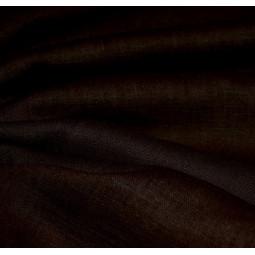 Toile de lin chocolat