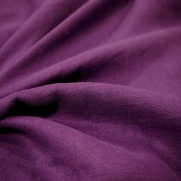 Toile de lin violet