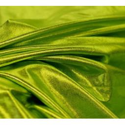 Lycra brillant vert anis