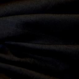 Toile de lin noir