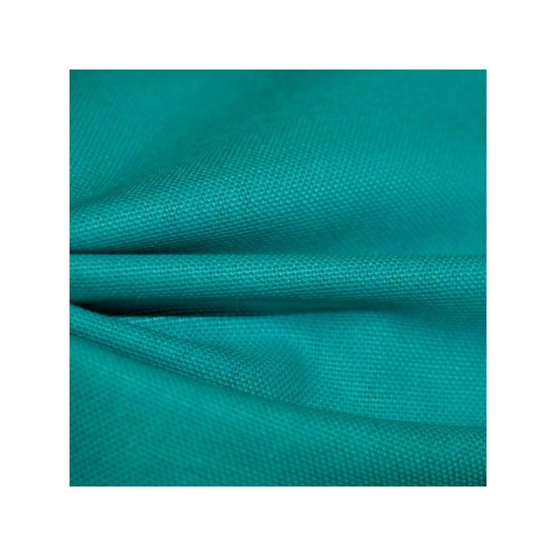 Tissu bachette bleu turquoise