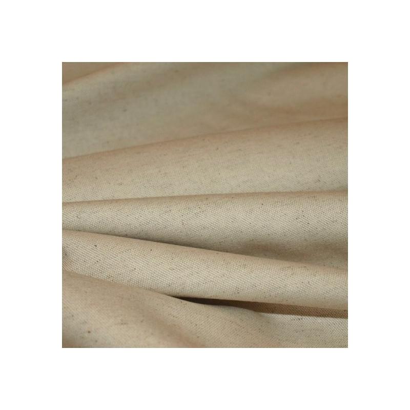 Tissu bachette écru / moucheté
