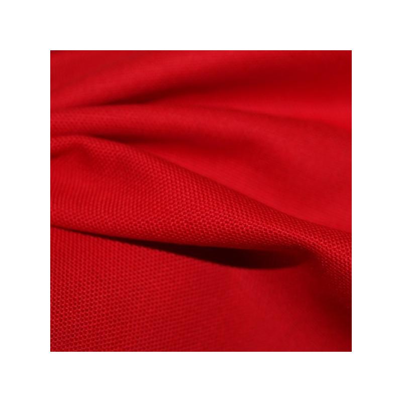 Tissu bachette rouge