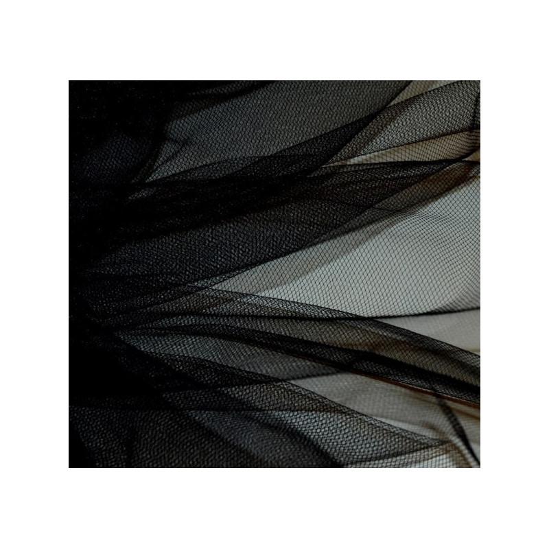 Tulle souple noir