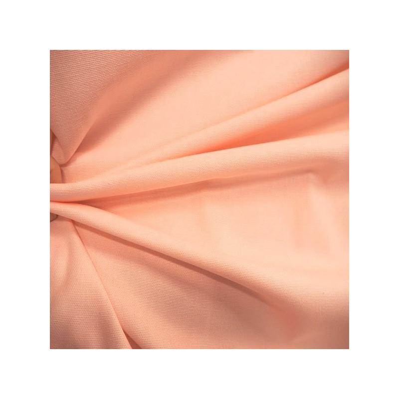 Tissu bachette rose poudré