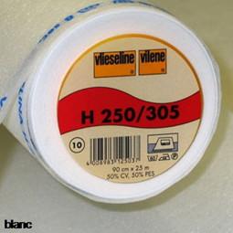 Toile vliesline blanche