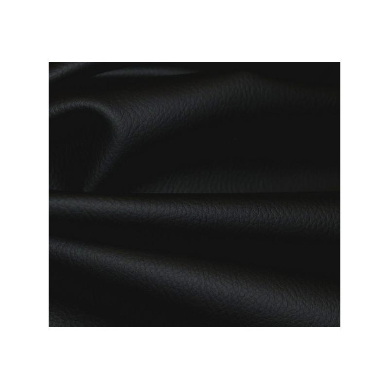 Simili-cuir granulé noir