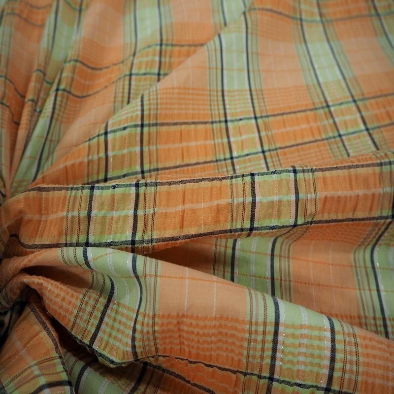 Madras orange/vert anis