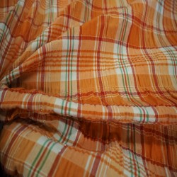 Madras orange/ rouge