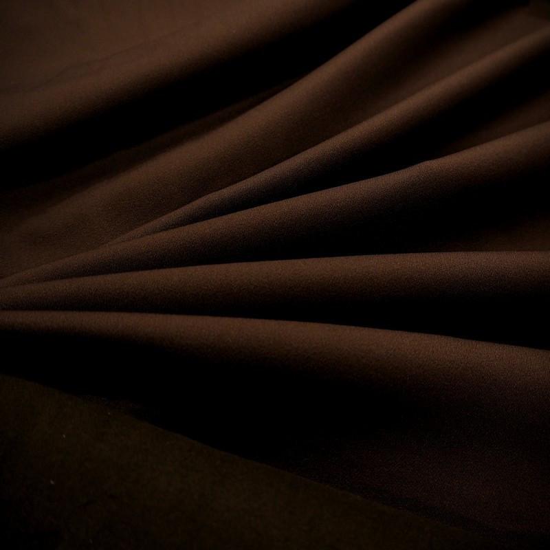 Tissu équitation chocolat