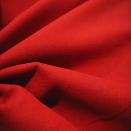 Toile de lin rouge