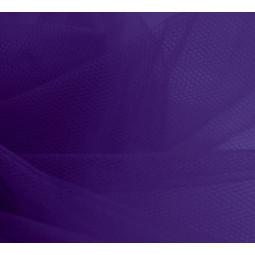 Pièce de tulle violet