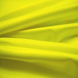 "Tissu ""Vêtement de travail""  jaune fluo"