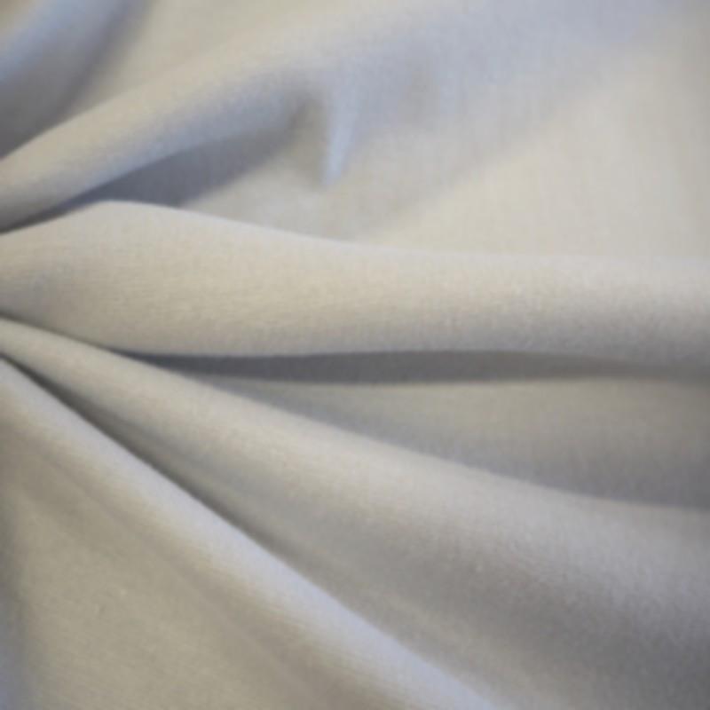 Bord côtes gris clair