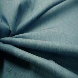 Tissu jean's bleu imprimé
