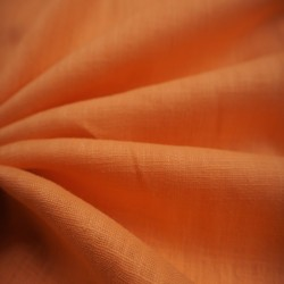 Toile de lin abricot