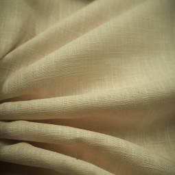 Toile de lin beige clair