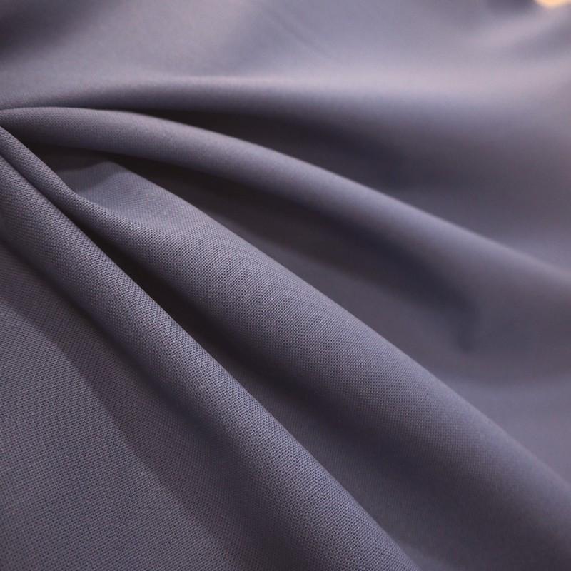 Tissu bachette bleu roi