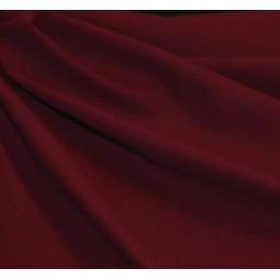 Tissu coton bordeaux