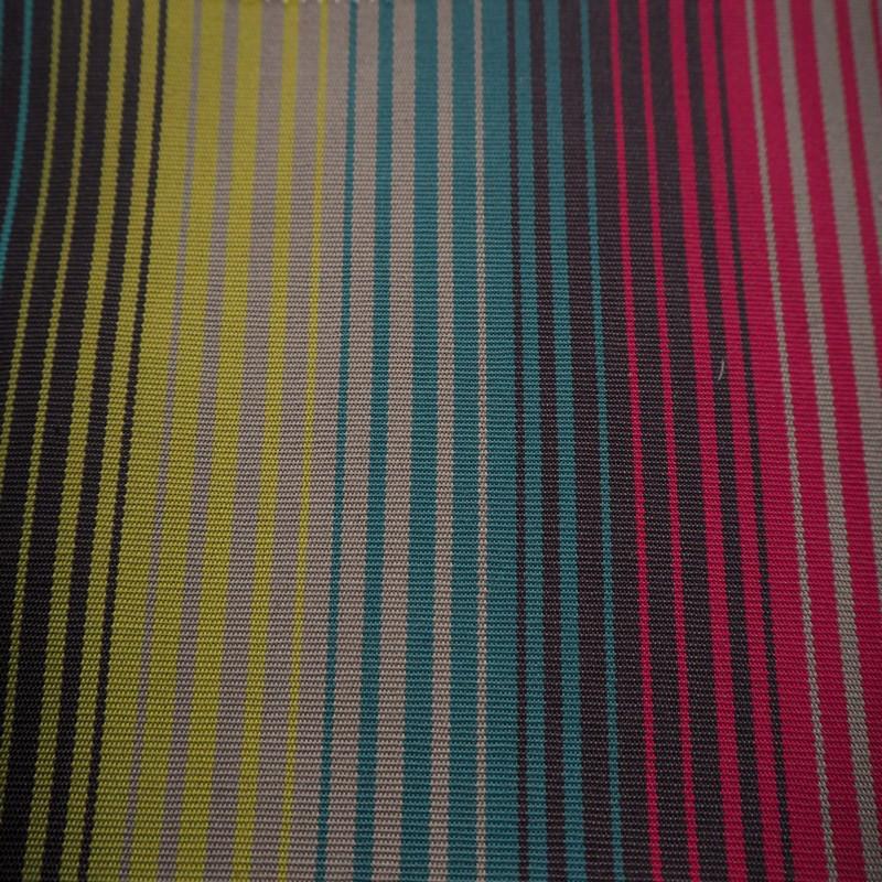 Tissu extérieur bandol turquoise