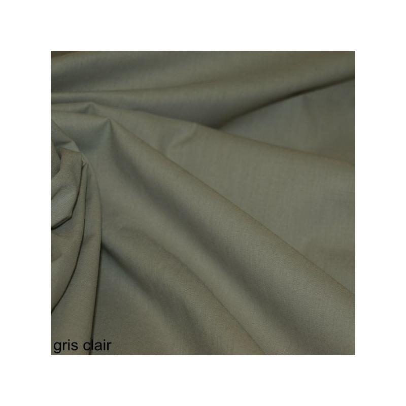 Toile à drap gris clair