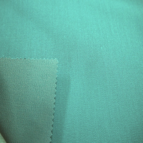 "Toile enduite ""Isabella""  turquoise"