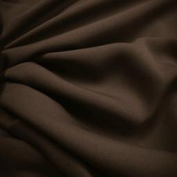 Tissu burlington chocolat