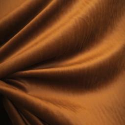 Tissu velours cognac
