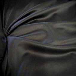 Tissu gabardine gris foncé