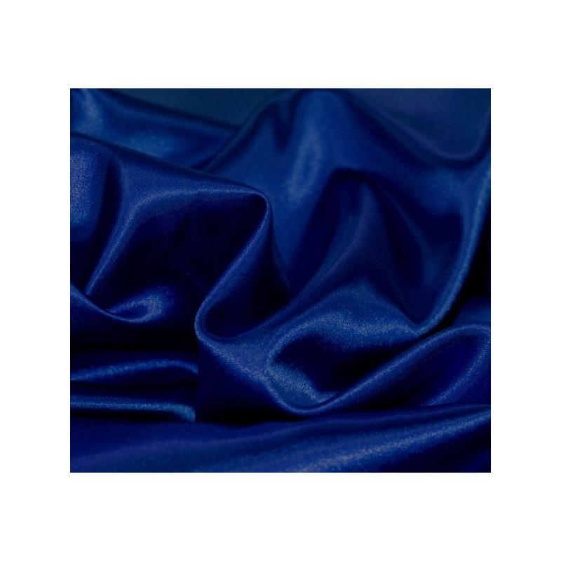 Satin bleu roi