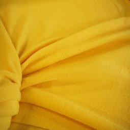 Tissu polaire jaune