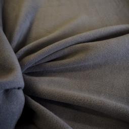 Tissu polaire gris foncé