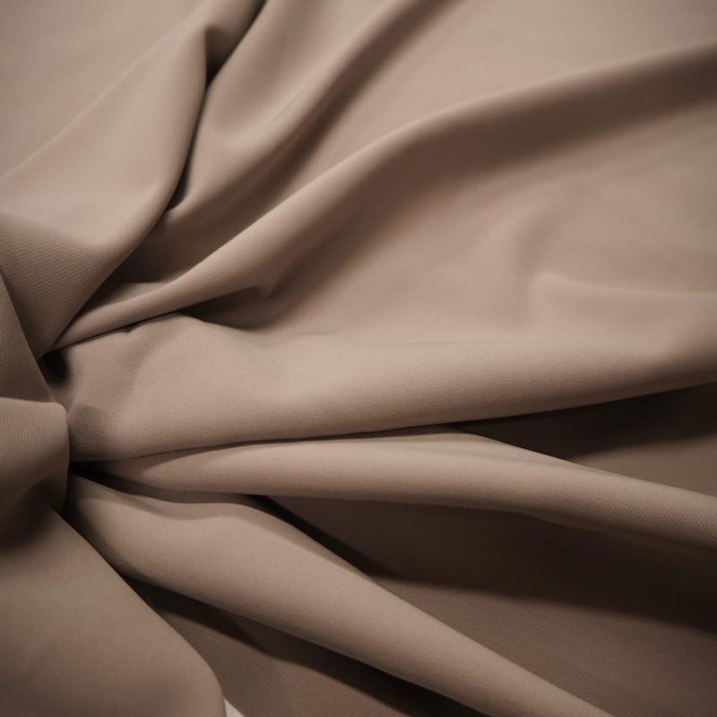 Tissu polyester gris clair