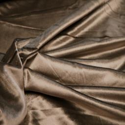 Tissu velours gris