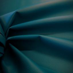 simili cuir granulé bleu canard
