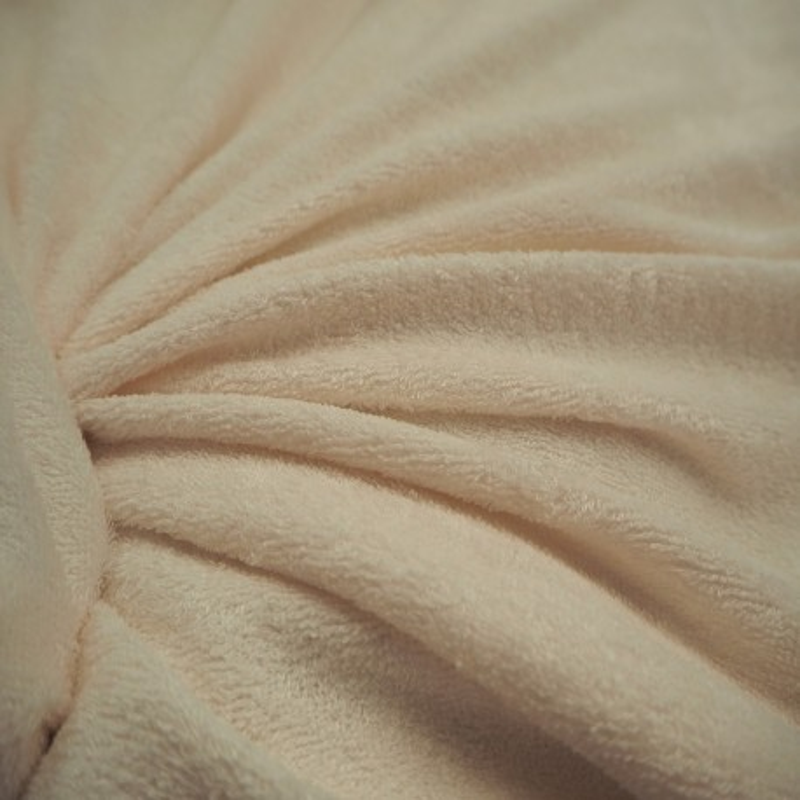 Tissu bambou éponge écru