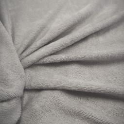 Tissu bambou éponge gris clair