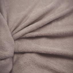 Tissu bambou éponge beige