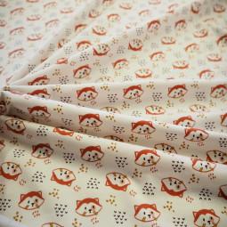 Tissu jersey imprimé enfant