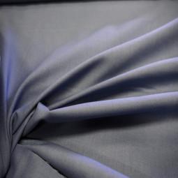 Tissu coton bleu jean