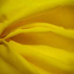 Tissu coton jaune citron