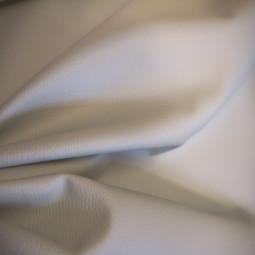 simili cuir granulé blanc cassé