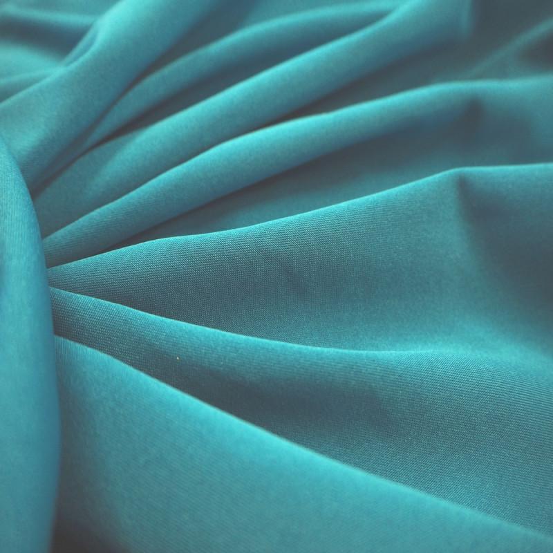 Lycra uni turquoise