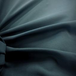 Tissu jersey uni bleu pétrole