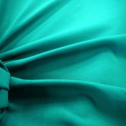 Tissu jersey uni bleu turquoise