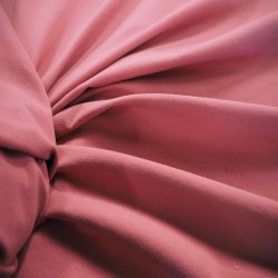 Tissu jersey uni rose foncé