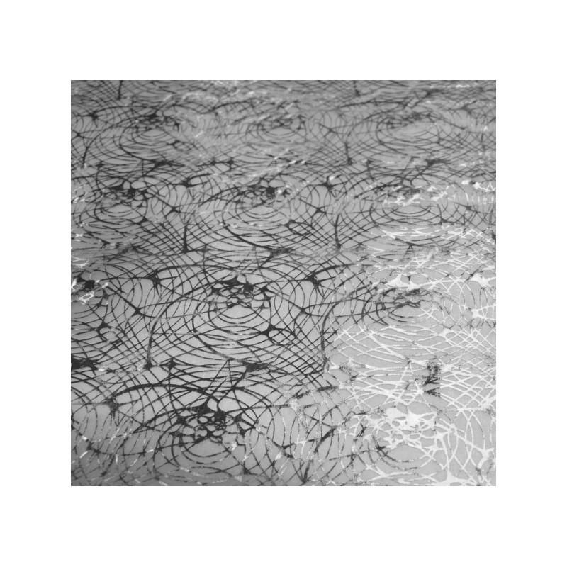 Tissu organza toile d'araignée