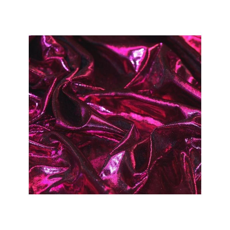 Tissu Laser Fuchsia
