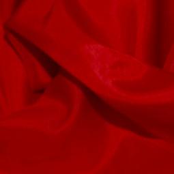 Tissu doublure rouge