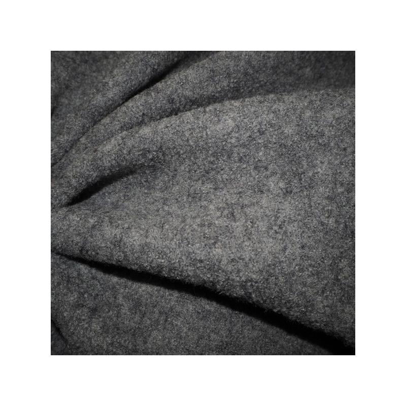Laine bouillie gris clair